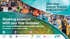Midlothian Science Festival logo