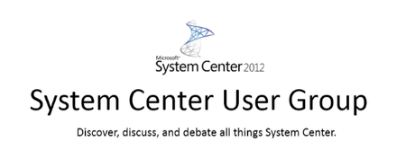 System Center User Group - November 6th Meeting (New...