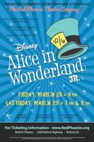 Alice In Wonderland Jr. Saturday Matinee