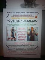 """The Gospel Nostalgia"" Are you Homesick for that good..."