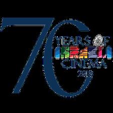 Embassy of Israel, presents '70 Years of Israeli Cinema' logo