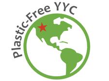 Plastic-Free YYC logo