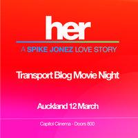 Transport Blog Movie Night: Her