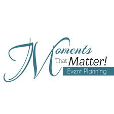 Moments That Matter, Event Planning logo