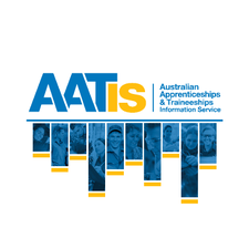 The Australian Apprenticeships and Traineeships Information Service logo