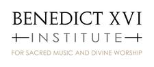 Benedict XVI Institute for Sacred Music & Divine Worship logo