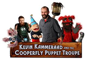 Kevin Kammeraad and the Cooperfly Puppet Troupe