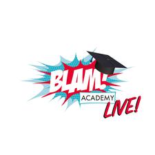 BLAM! LIVE logo