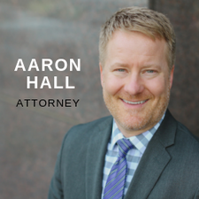Attorney Aaron Hall logo
