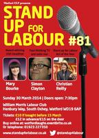 Stand up for Labour #81 - Watford logo