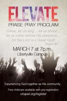 ELEVATE. Praise. Pray. Proclaim.