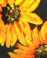 Canvas Painting Class - Sunflowers