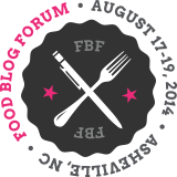Food Blog Forum 2014 in Asheville, North Carolina