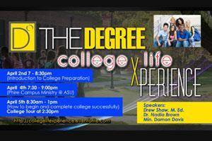 THE DEGREE College Life Xperience