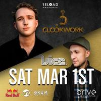 PRIVÉ Saturdays Presents ::  DJ Vice/Clockwork  ::...