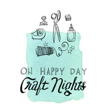 Oh Happy Day Craft Nights logo