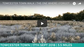 TOWCESTER TOWN SECRET PARK WALK 3 MILES   EASY ROUTE  ...