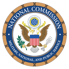 National Commission on Military, National, and Public Service logo