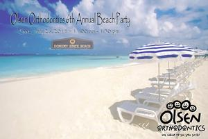Olsen Orthodontics 6th Annual Beach Party (2014)