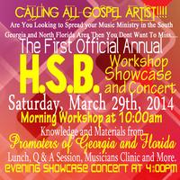 H.S.B. Workshop, Showcase and Concert