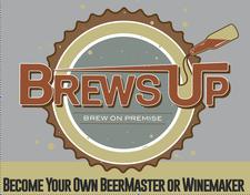 Brews Up  logo