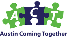 Austin Coming Together logo
