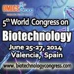 5th World congress on Biotechnology