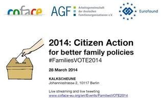 #FamiliesVOTE2014 debate