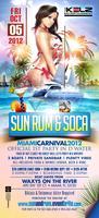 """RED EYE CARNIVAL WEEKEND 2012  """"SUN RUM & SOCA ALL..."""