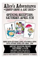 Alice's Adventures Gallery: Group Show & Art Cards