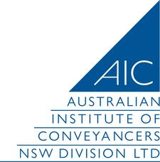 Australian Institute of Conveyancers  (NSW Division) as the Facilitator logo
