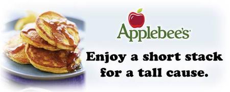 Applebee's Flapjack Fundraiser 2014