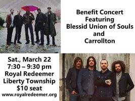 Benefit Concert featuring Blessid Union of Souls and Ca...
