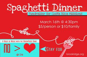 Spaghetti Dinner & A Night of Music w/ The BRCC Band