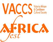Productions Pulchérie Mboussi: VACC Society/AfriCa Fest logo