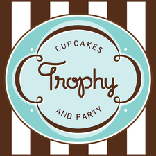 Trophy Cupcakes & Party logo