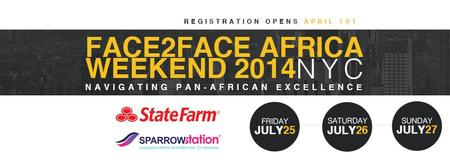 Face2Face Africa Weekend 2014 NYC