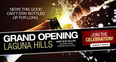 Laguna Hills Grand Opening Wine and Beer Tasting...