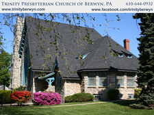 Trinity Presbyterian Church of Berwyn PA logo