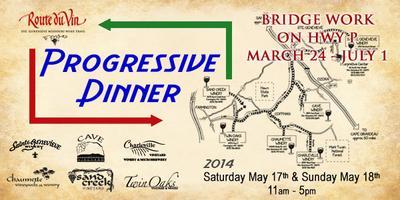 Progressive Dinner 2014