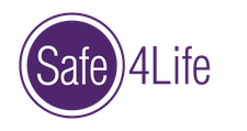 Safe4Life Personal Safety Training...More Than Self Defense logo