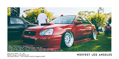 WEKFEST LOS ANGELES - VIP PRE-SALE ADMISSION TICKET
