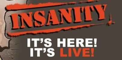 Live Insanity Workout! Catered to all Fitness Levels!