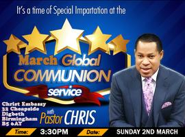 March 2014 Global Communion Service with Pastor Chris