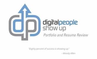 Digital People Show Up Portfolio and Resume...