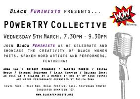Black Feminists presents… POwErTRY Collective 2