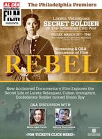 Rebel: Loreta Velazquez, American Civil War soldier...
