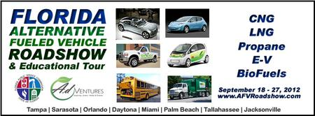Alternative Fuel Vehicle Roadshow -Jacksonville - 9/21