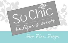 So Chic Boutique and Events logo