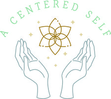 Kim Conway, LICSW, Reiki Master, Founder, A Centered Self, LLC. logo